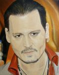 Johnny Depp  - Toronto 2015 by shaman-art