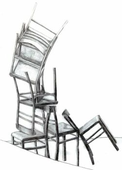 Pile Of Chairs by fifilein