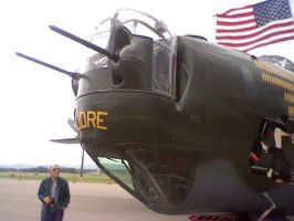 My first picture of an, B-24. by Flutterflyraptor