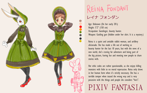 PixivFantasiaNewWorld:Reina Fondant by Betachan
