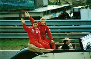 David Coulthard, Mika Hakkinen, Estoril - 1996 by F1PAM