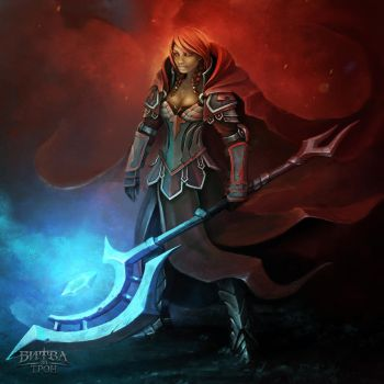 Red by Sephiroth-Art