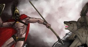 GTFO OF SPARTA by WolfLUVA