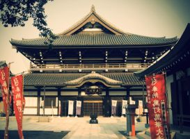 Japanese Temple by DejanPelzel