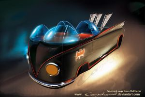 VW Bat Rod by candyrod