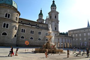 Cathedral Square, Salzburg by Kiwi29