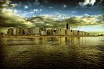 golden water City by RobinRoels