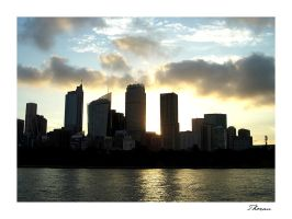 Sydney Skyline by Thoran