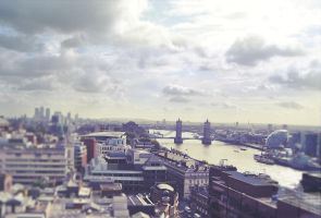 london from the monument by 44gatti