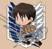 Eren Jaeger by inupuppy1412
