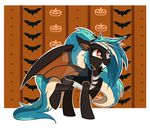 Halloween Bat Pony Auction- CLOSED by ExtremePenguin