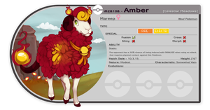 PKMNation: Amber by CatLuvsCookies