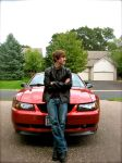 Just a boy and his Mustang by MusicGuy3889