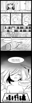 UNDERSWAG: EMPTY VOID AU (Page 1-2) by kyashee