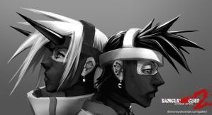 ryujin and genji by dinmoney