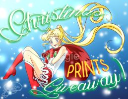 Christmas Prints Giveaway! by foogie