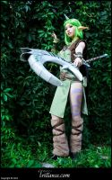 Dryad Soraka - They will go no further by ValkyriaCreations