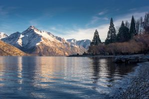 Lake Wakatipu by Theasianben
