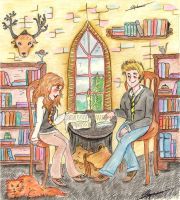 Library love by Eveliien