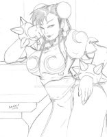 Chun Li Pencils by Bfetish