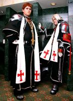 Tres and Abel of trinity blood by wannabehokage