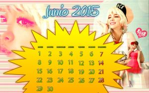 Calendar Ailee Junio by RainboWxMikA