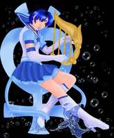 Eternal Sailormercury by purenightshade