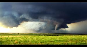 Tornado in the Plains by FramedByNature