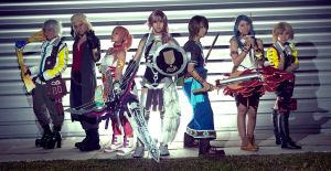 Final Fantasy XIII-2 AFA 2012 by Counter-Identity