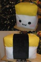 SUPER Tamago Pillow by LiLMoon