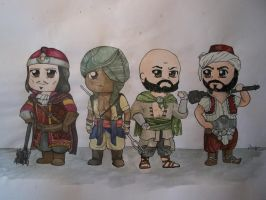ACR multiplayer character set 4 by i-UnKnown