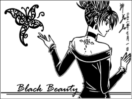 Sketchbook: Black Beauty by kurohiko