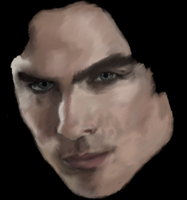 Ian Somerhalder WIP by AStolenRelic