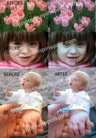 Dreamy effect Photoshop action  Freebie by nishagandhi