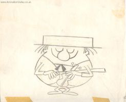 Ernest Pintoff The Violinist by AnimationValley