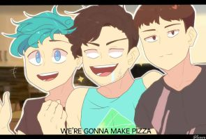 Youtubers : PIZZA by pacaora