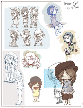 Anchor Girl Concepts by colonel-strawberry