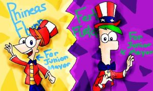 +.::Who for Junior Mayor?::.+ by Xtreme-Cartoons