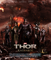 THOR: RAGNAROK fan made poster by DarthDestruktor