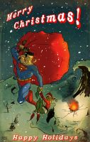 How Superman saves Christmas by Andrew-ak-47