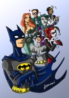 TBBT Batman by ADL-art