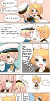 Little Oliver and Rin by Miza3
