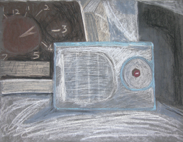 College Drawing II: Radio by Leminnes