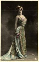Vintage lady in costume  XXXI by MementoMori-stock