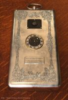 Steampunk Mobile Phone - WIP 1 by Technohippy