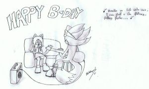 .::HAPPY B-DAY CHELSEA-CAT::. by hdfca177