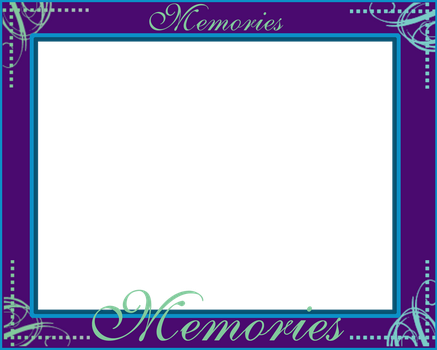 Memories 8x10 PNG Frame by BlissfuLLimaging