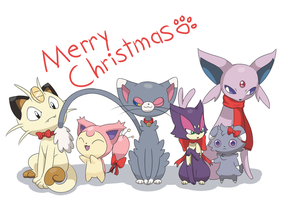 Merry christmas! by MeowNi