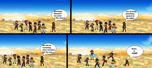 Un named OC COMIC: Preview by Clethrow