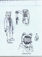 Manbearpig first sketches by zimvader42